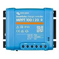 Victron Energy SmartSolar MPPT 100V 20 amp 12-24-Volt Solar Charge Controller (Bluetooth)