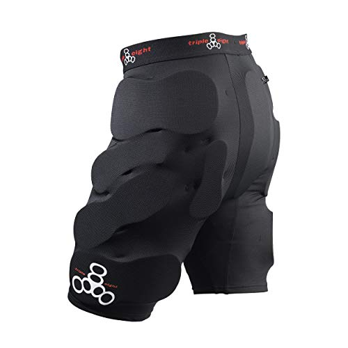 Triple Eight Bumsaver Men's Padded Shorts for Skateboarding and Snowboarding, Medium