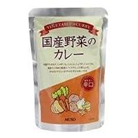 ムソー 国産野菜のカレー 辛口 200g ×10セット