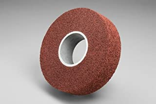 3M Scotch-Brite XL-WL Convolute Aluminum Oxide Medium Deburring Wheel Medium Grade Arbor Attachment 1 1//2 in Thickness 92983 PRICE is per WHEEL 8 in Center Hole 14 in Diameter