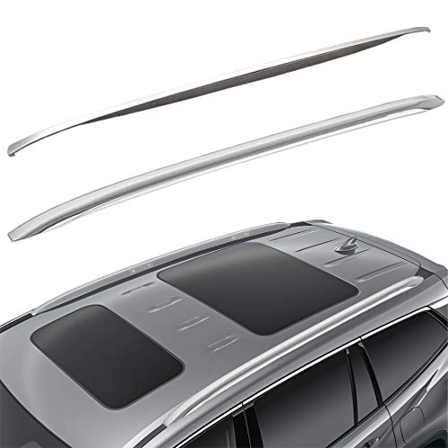 Tata.Meila Roof Rack Side Rails for Honda Pilot 2016 2017 2018 2019 2020 2021 Luggage Carrier Roof Rails Silver