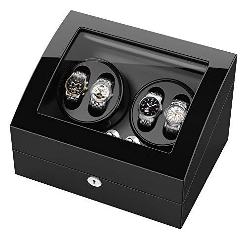 Boîte remontoir de montre double pour Montres Automatiques