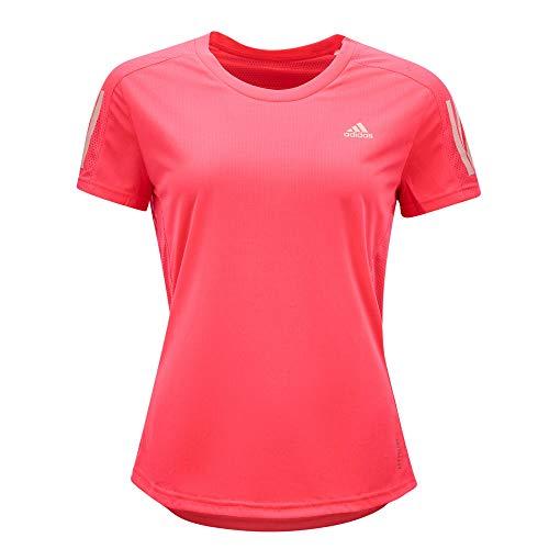 adidas Own The Run tee Camiseta, Mujer, rossen, M