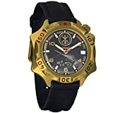 Vostok Komandirskie Strategic Rocket Forces Mechanical Mens Military Wrist Watch #539771 (Classic)