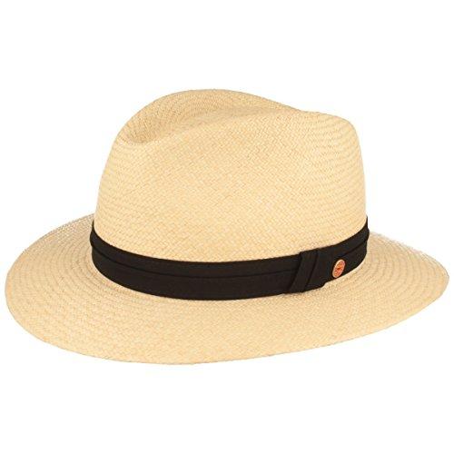 Mayser Orginal Panama-Hut Sommer-Hut aus Ecuador – Traditionell Handgeflochten, gefüttertes Schweißband, Bruchschutz