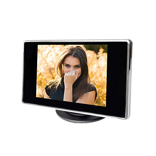 KKmoon Auto 3.5 Zoll Rearview DVD Farbe TFT LCD Monitor High Definition