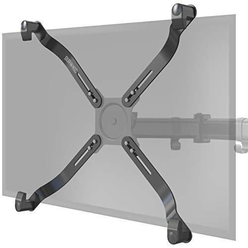Duronic DMAD1NV Adaptadores VESA para soporte para monitor y pantalla – Compatible con soportes de pantalla de hasta 27 pulgadas