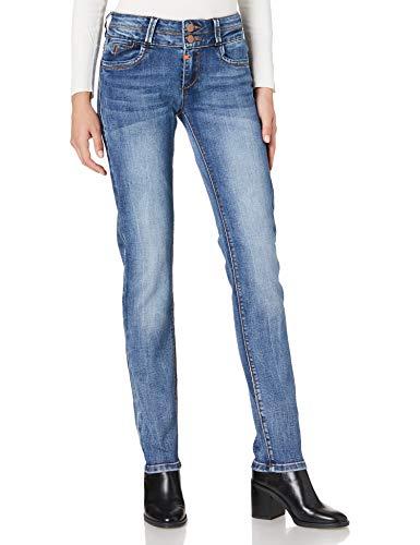 Timezone Slim EnyaTZ Jeans, Silky Vintage Wash, 33W x 30L Donna