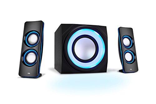 Cyber Acoustics 44W Peak Power Speaker System with Control Pod