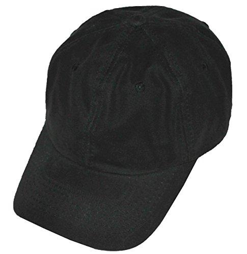 Dorfman Pacific Polo Style Low-Profile Oil Cloth Water Repellent Baseball Cap (Green)