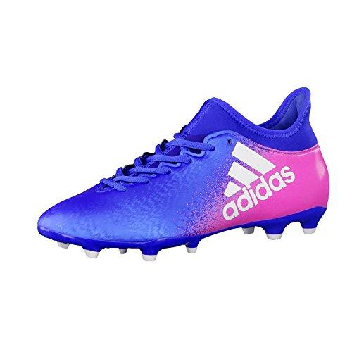 adidas X 16.3 FG, Scarpe per Allenamento Calcio Uomo, Blu (Azul/Ftwbla/Rosimp), 44 EU