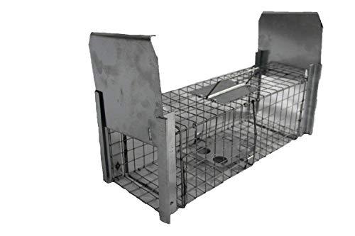 TRAPGALLIER piège Capture 2 entrées Rats, rongeurs ou Animaux de Taille similaire Fabrication Française