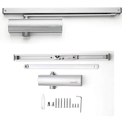 Modern Hold Open Arm Assembly Heavy Duty Automatic Door Closer - Sexy and Slick Commercial Grade...