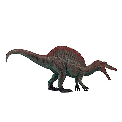 MOJO Deluxe Spinosaurus with Articulated Jaw Realistic Dinosaur Hand Painted Toy Figurine