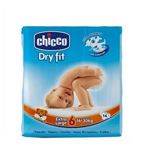 Chicco Fraldas Dry Fit T6 16-30Kg x 14 unidades