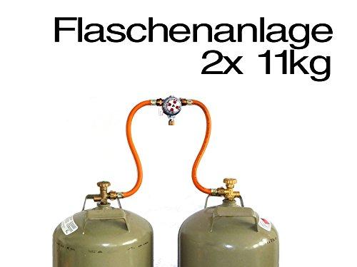 Zweiflaschenanlage Multimatik 50 mbar mit automatischer Umschaltung