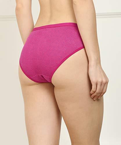 Fashion Comfortz Women Girls Ladies Undergarments Innerwear Hipster Thong Periods Multicolor Panties Combo 100% Cotton Ladies Bright Multi Color Panty Bikini Brazilian Cheekies