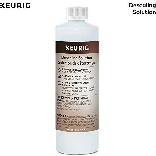 Keurig Descaling Solution Brewer Cleaner, Includes 14 oz. Descaling Solution, Compatible with Keurig Classic/1.0 & 2.0 K-Cup Pod Coffee Makers, 1 Count