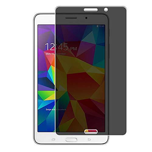 Vaxson Protector de Pantalla de Privacidad, compatible con SM-T239C Galaxy Tab 4 VE 7' Samsung Tab4 [no vidrio templado] TPU Película Protectora Anti Espía