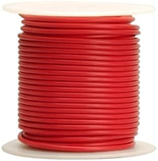 8 AWG Tinned Marine Primary Wire, Red, 50 Feet