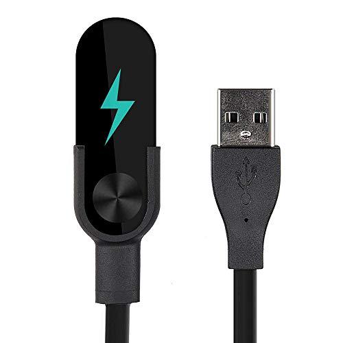Ellenne Cavo di Ricarica Caricatore USB Data Synchro Compatibile per Orologio XIAOMI Mi Band 2 3 4 (per Mi Band 2)