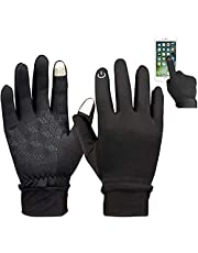 Handcuffs Unisex Gloves Biking Cycling Water Resistant Outdoor Gloves Athletic Touch Screen Friendly Mittens for Mens and Womens Large Size