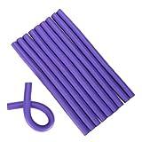 Spiral Twist Bigodini Spongia torsione della gomma piuma Riccioli fai da te Hair Styling Rulli flessibile Curling Rods saloni Tools (1,8 centimetri) di parrucchiere Strumento