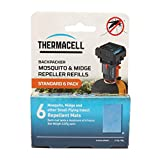 ThermaCELL Pack de Recarga de Estera Repelente de Mosquitos Estándar (6 Alfombras)
