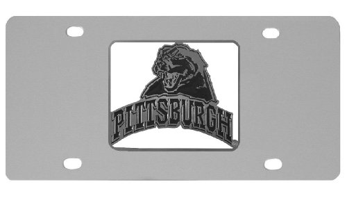 Siskiyou NCAA Pittsburgh Panthers Steel License Plate