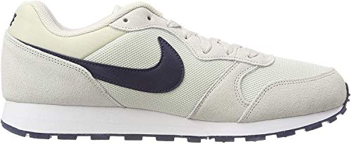 Nike Herren Md Runner 2-749794 Gymnastikschuhe, Grau (Light Bone/Obsidian 009), 39 EU