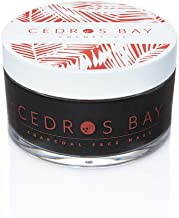 Cedros Bay Charcoal Face Mask 4.6oz - Vegan, Natural & Cruelty Free