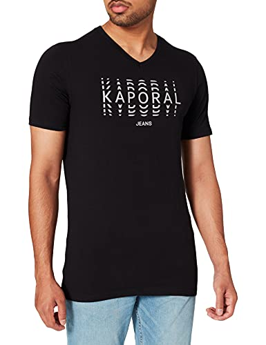 Kaporal Rito T-Shirt, Black, XL Homme