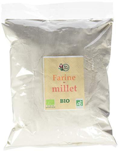 RITA LA BELLE Farine de Millet Bio - 1 kg - Lot de 3