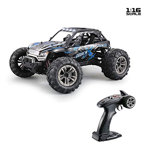 AKDSteel Xinle-Hong 9137 1/16 2.4G 4WD 36km/h RC Car W/LED Light Desert Off-Road High Class Truck RTR Toy Blue for Toys Gifts