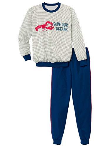 CALIDA Boys Ocean Jungen Bündchen-Pyjama Jungen