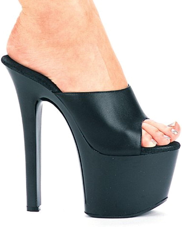 Ellie 711-VANITY-L 7  Heel Leather Mule