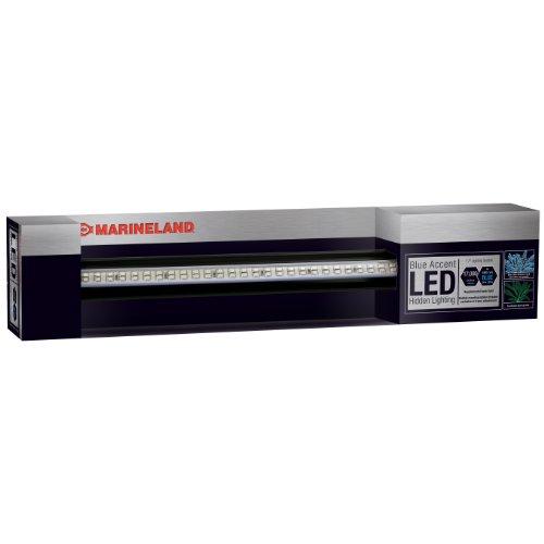 Marineland Accent Hidden LED System, 17-Inch, Blue