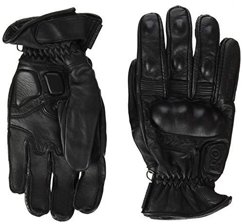 Windsoroyal - Guantes de verano Alton para hombre, Negro - XL