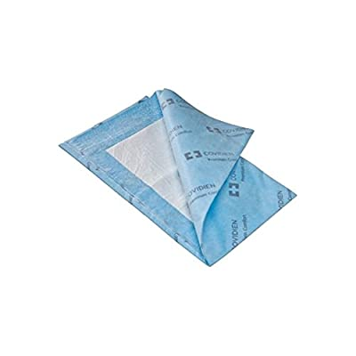 """Covidien P3036C Wings Quilted Premium Comfort Underpads, 30"""" x 36"""" Size, Blue"""