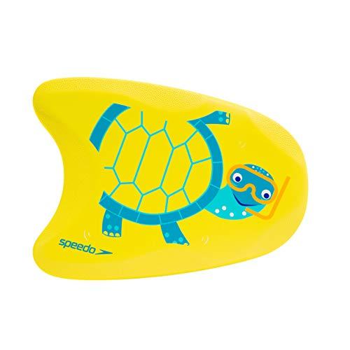 Speedo Flotador con Estampado DE Tortuga Nadar, Unisex Adulto, Amarillo/Azul, Infant Talla única
