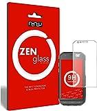 ZenGlass Flexible Glas-Folie kompatibel mit Caterpillar Cat S31 Panzerfolie I Bildschirm-Schutzfolie 9H