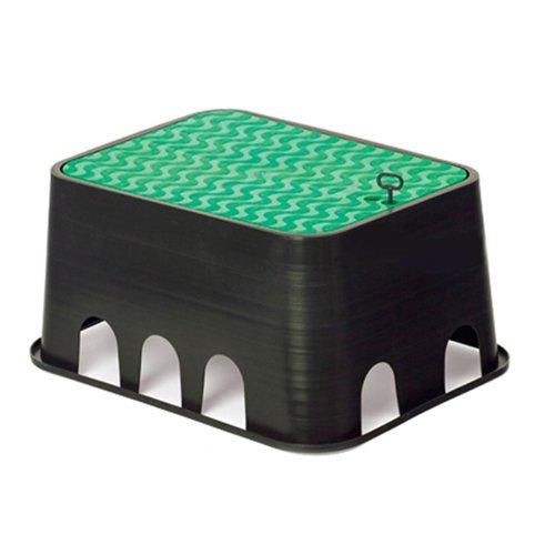 Rc Junter Jumbo-Eco Arqueta de riego, Verde, 64.8x52.2x30.3