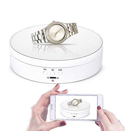 Leadleds Giratorio motorizado giratorio de 1,5 pulgadas de diámetro de 360 grados,...