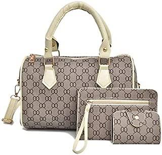 Korean 3in1 sling bag and handbag for women EHB302 White