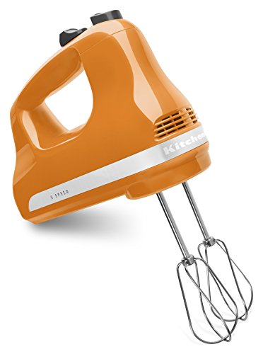 KitchenAid Mélangeur mains 5 vitesses ultra puissant 5 SPEED mandarine