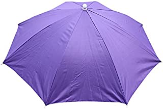 iYBUIA Summer Foldable Novelty Umbrella Sun Hat Golf Fishing Camping Fancy Dress Multicolor