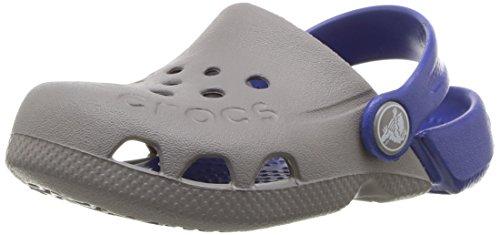 Crocs Crocband Electro Kids, smoke/cerulean blue, 5 M US Toddler