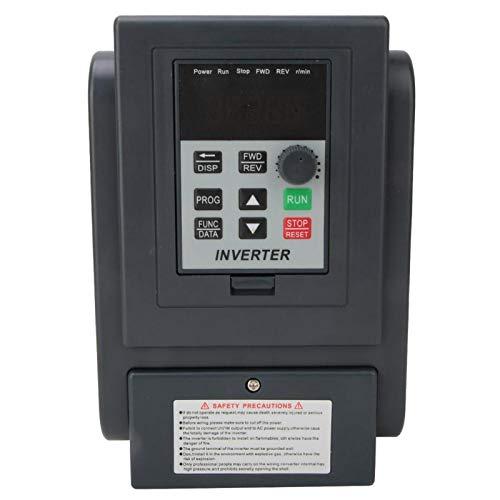 Entrada monofásica Salida trifásica Controlador de velocidad de accionamiento de frecuencia variable Convertidor Inversor de motor 2.2kW