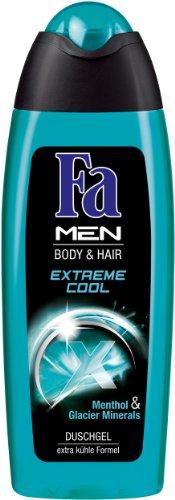FA Gel Douche Men – Extreme Cool – Pack de 6 x 250 ml