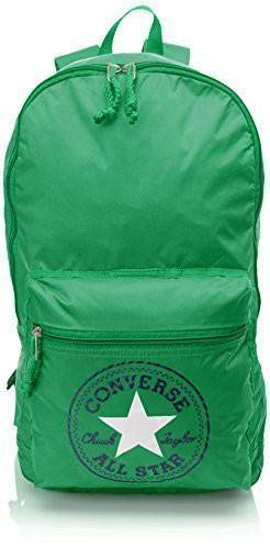 Converse Backpack CT Packable NY Season, Mochila Unisex Adulto Verde Size: 43x28x18